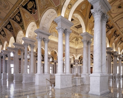 Great Hall at the Library of Congress, Thomas Jefferson Building