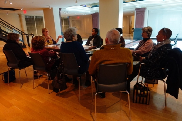Docents Reach Across Disciplines to Discover New Stories