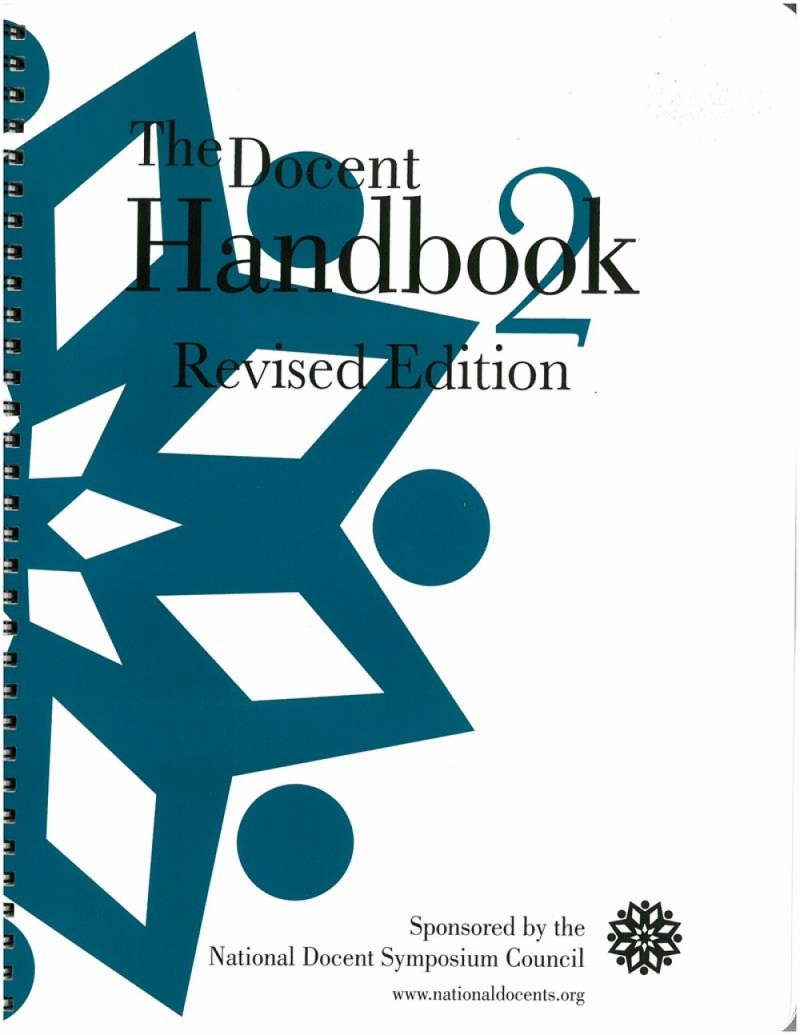 The Docent Handbook 2 – Now Available for Ordering!